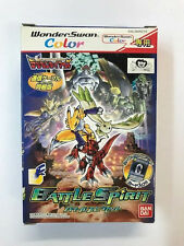 Bandai Wonder Swan Color DIGIMON BATTLE SPIRIT BOX. NEW