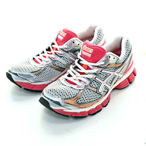 Asics GT 3000 White & Pink Runners Sneakers Womens Shoes Size US 8.5/ EUR 40