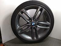 "2015 BMW 2 SERIES F22 18"" REFURB REAR ALLOY WHEEL + 5MM MICHELIN TYRE 245/35R18"