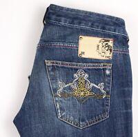 Diesel Damen Ryoth Slim Gerades Bein Jeans Größe W29 L32 ARZ1527