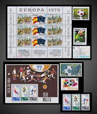 ESPANA '82 AND 1978 ARGENTINA FIFA WORLD CUP SOCCER ON SPAIN . POLAND . MALTA .