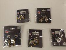 Game Day Lot 5 Pittsburgh Steelers Dangle Earrings Jewelry Set Football Hook