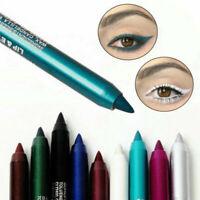 2Pcs Long lasting Eye Liner Pencil Waterproof Pigment Eyeliner Makeup Beauty New