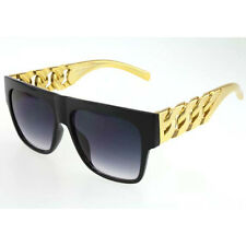 Chunky Hip Hop Sunglasses Rapper Run DMC Chain Link Rap Hammer Sun Glasses