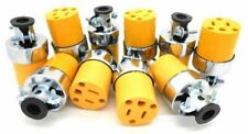 (10) Female Extension Cord Replacement Ends Plug 15A 125V Electrical Repair NEW
