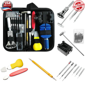 149 pcs Watch Repair Kit Watchmaker Back Case Remover Opener Link Pin Spring Bar