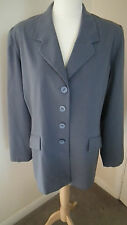 Blue Rebecca Sheldon At New Look Jacket Size 16