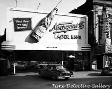 Narragansett Lager Beer Billboard - Historic Photo Print