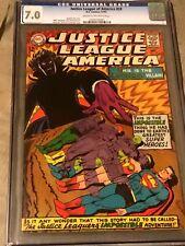 Justice League of America #59 (1967) CGC 7.0
