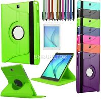 """360 °Rotating Leather Case Stand Cove For Samsung Galaxy Tab A 9.7"""" T550 SM-T555"""