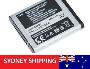 Samsung Battery AB483640BU AB483640BE B3210 B3310 C3050 F110 J758 F768 2040 J578