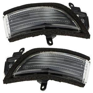 OEM 2012-2018 Subaru Side View Mirror Turn Signal Lamp Set 84401AJ000 84401AJ010