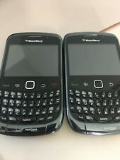 2 BlackBerry Curve 9330 - Black (Verizon Pre Paid) 3G Smartphones