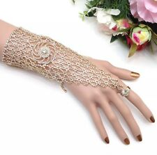 Indian Bollywood Bridal Jewellery Ethnic Wear Hath Panja/ Bracelet With Ring