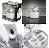 Pifco 1.2 Litre Ice Cream Maker, Frozen Yoghurt & Sorbet Machine