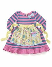 Matilda Jane Girls Size 4 Make Believe Somethings Cooking Dress NWT In Bag New