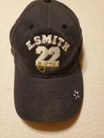 Vintage Dallas Cowboys Hat Cap Emmitt Smith 22 Adjustable QB Club NFL Football