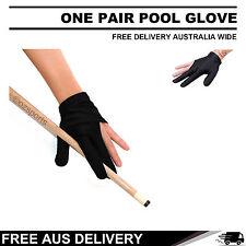 1 Pair of Pool Snooker Billiard Gloves Free Australia Wide Postage