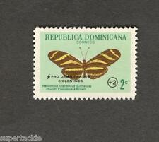 Republica Dominicana #B48 MH stamp Correos Butterfly