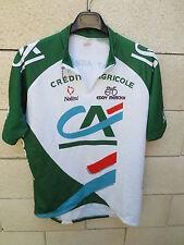 VINTAGE Maillot cycliste CREDIT AGRICOLE Nalini Eddy Merckx cycling jersey 6 XXL