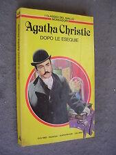 CLASSICI GIALLO MONDADORI #  434 - AGATHA CHRISTIE - DOPO LE ESEQUIE
