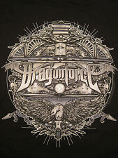 Dragonforce,100% Cotton, Black, Short Sleeved Shirt SM