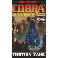 Cobra Gamble by Timothy Zahn (2012, Paperback)
