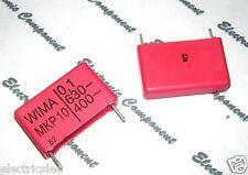 4pcs - WIMA MKP10 0.1uF (0,1µF 100nF) 630V 5% pitch:22.5mm Capacitor