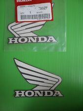 GENUINE Honda Tank Sticker WHITE & SILVER 93mm x 75mm ***UK STOCK***