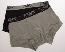 Bipack 2 boxer trunk EMPORIO ARMANI art.111210 4P715 T.S col.32620 BLACK MAUVE