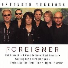 "FOREIGNER ""Extended Versions (Greatest Hits Live Las Vegas 2005)"" CD! NEW!!"