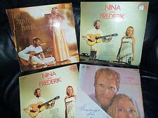 NINA & FREDRICK  x  6  JOB LOT - MONO -  1966/69   -  £5 THE LOT