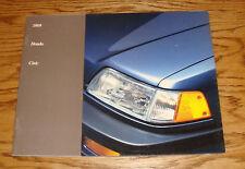 Original 1989 Honda Civic Sales Brochure 89 DX LX Wagon