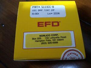 EFD Norlico Corp 5111EC-B 10CC SNAP TIGHT CAP