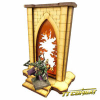 TTCombat - Fantasy Scenics - Minor Riftgate of Fire - Great for AoS