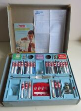 VERY RARE 1960's MERIT 90 EXPERIMENT CHEMISTRY SET No.2 MOSTLY COMPLETE