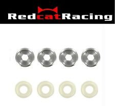 Redcat Racing  Front Hub Caps 4Pcs Hurricane XTR and Monsoon XTR Part # 85779