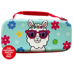 Nintendo Switch Lite Protective Carry and Storage Case - Llama