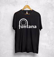 Fontana Records T Shirt Northern Soul Wigan Casino Good Looking Records Logo
