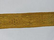 1m Goldborte mit Metallfaden 20mm GB53