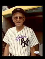 Lefty Gomez PSA DNA Coa Hand Signed 8x10 Photo Autograph