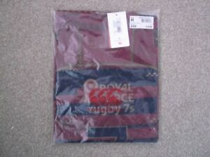 ROYAL AIR FORCE  RUGBY UNION SHIRT LARGE SIZE CANTERBURY MAKE BNWT