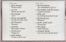 rock and roll hall of fame 13th nominees cassette the eagles fleetwood mac
