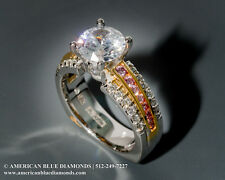 A.JAFFE .70CT TW VS1 F, Semi-mount Engagement Ring (Item 752)