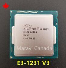 Intel Xeon E3-1231 V3 SR1R5 3.4Ghz Quad 4 Core LGA 1150 CPU Processor
