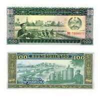 Pick 30a Laos 100 Kip 1979  Unc. /140091vvv