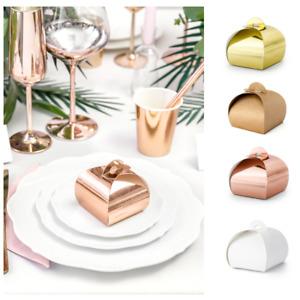10 x Geschenkschachtel box Gastgeschenk Geschenk verpackung Hochzeit Geburtstag