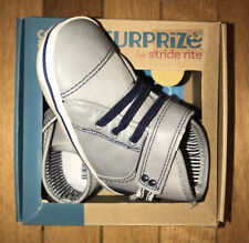 Surprize by Stride Rite Baby Boys Sz 12-18 Mths Owen High Top Sneakers Soft Sole