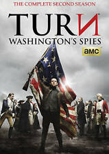 TURN: Washingtons Spies - Second Season (DVD, 2016, 3-Disc Set) New, Free ship