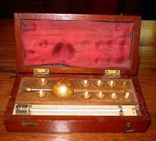 Original 19th century Sikes Hydrometer-complete in case-15312